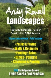 Andy Rowell Landscapes Dales Directory Online Tel